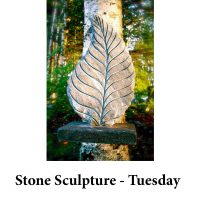 Stone Sculpture - Tuesday for page