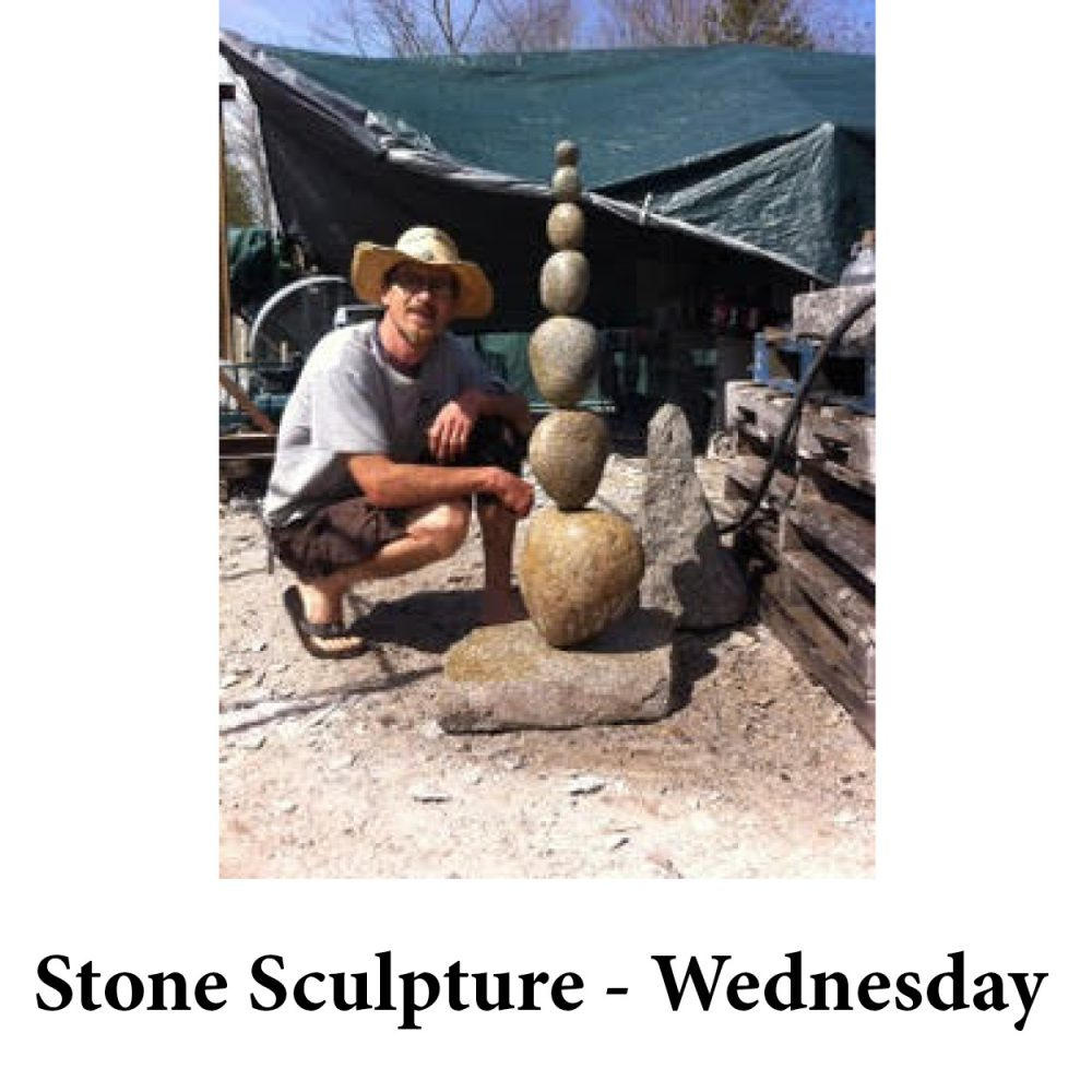 Stone Sculpture – Wednesday for page
