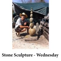 Stone Sculpture - Wednesday for page