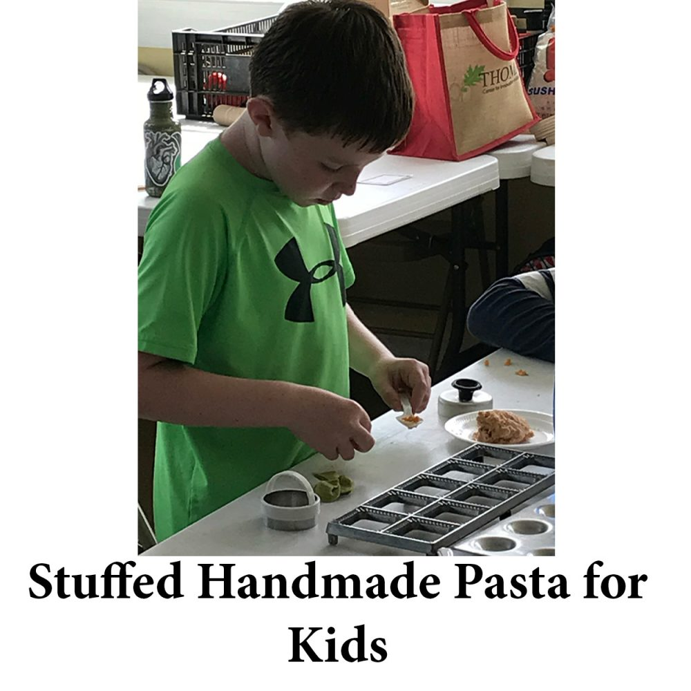 Stuffed Handmade Pasta for Kids for page