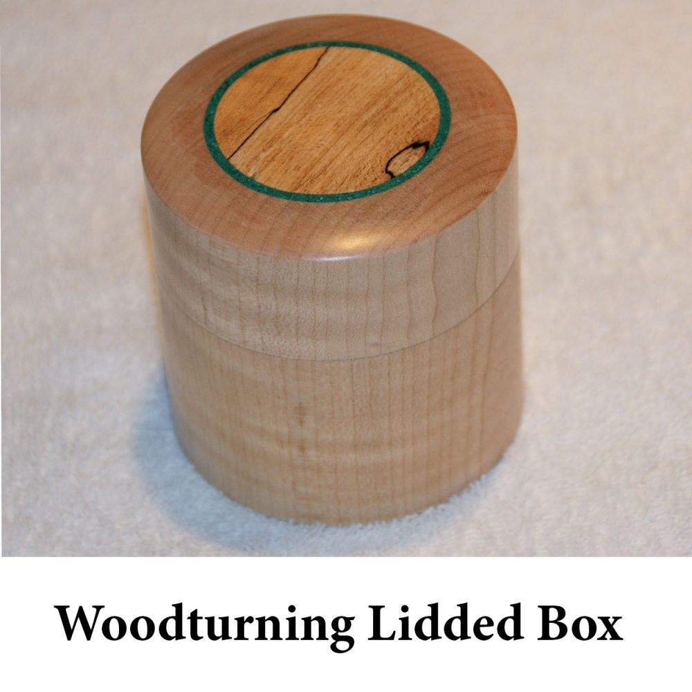Woodturning Lidded Box for page