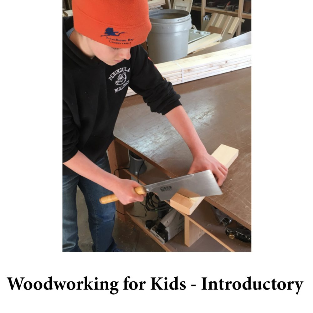 Woodworking for Kids – Introductory for page