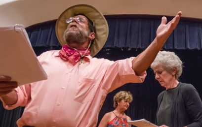 Meetinghouse Theatre Lab:  What? A staged reading of four one-act plays by Bruce Pratt.