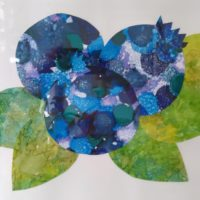 Amanda Coburn alcohol ink collage